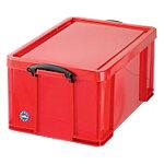 Boîte de rangement Really Useful Boxes 64 litres Polypropylène Rouge 64 l 440 x 710 x 310 mm