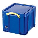Boîte de rangement Really Useful Boxes 35 litres Polypropylène Bleu 35 l 480 x 390 x 310 mm