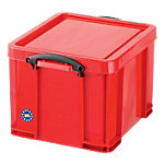 Boîte de rangement Really Useful Boxes 35 litres Polypropylène Rouge 35 l 480 x 390 x 310 mm