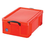 Boîte de rangement Really Useful Boxes 18R polypropylène Rouge 18 l 480 x 390 x 200 mm