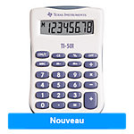 Calculatrice De Poche Texas Instruments TI 501 55 mm Bleu, Blanc