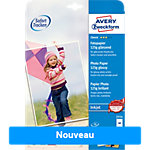 Papier Photo AVERY Zweckform 2554 Blanc Brillant 125 g
