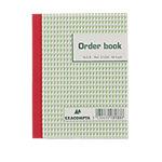 Carnet de commandes autocopiant Exacompta 3133X triplicata Blanc, vert Ligné 10,5 x 13,5 cm 25 feuilles