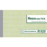 Manifold autocopiant Exacompta Blanc 10,5 x 18 cm 25 feuilles