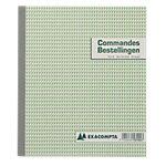 Carnet de commandes autocopiant Exacompta 53104X Bilingue NL