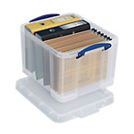 Boîtes d'archives Really Useful Boxes 48 x 39 x 31 cm Plastique Transparent