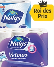 À partir de €3,49 Papier toilette Nalys