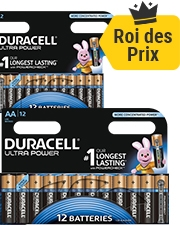 Seulement €6,29 Pile Duracell Ultra Power
