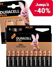À partir de €3,79 Piles Duracell