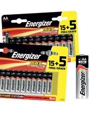 Seulement €2,29 Piles Energizer