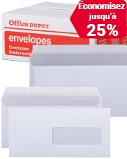 À partir de €17,99 Enveloppes Office Depot