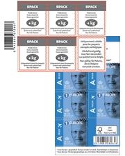 À partir de €11,50 Timbres postaux autocollants bpost