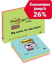 À partir de €5,49 Notes adhésives Post-it Super Sticky