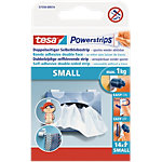 tesa Powerstrips Doppelseitiges Klebeband Small 0,035 m Weiß 14 Stück