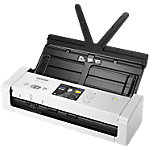 Brother ADS 1700W tragbarer Desktop Scanner Grau