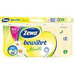 Zewa Toilettenpapier Kamille 3 lagig 8 Rollen à 150 Blatt