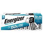 Energizer AA Alkali Batterien Max Plus LR6 1,5 V 20 Stück