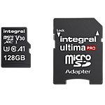 Integral Micro SDXC Flash Speicherkarte UltimaPRO V30 128 GB