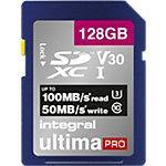Integral SDXC Flash Speicherkarte UltimaPRO V30 128 GB