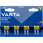 VARTA Batterie High Energy AAA AAA 8 Stück