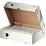 Leitz easyboxx Archivschachteln 700 Blatt Weiss Karton 8 x 35 x 25 cm 25 Stück