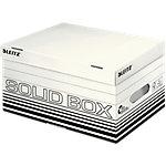 Leitz Aufbewahrungsbox Solid Weiss Karton 26.5 x 37 x 19.5 cm 10 Stück