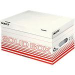 Leitz Aufbewahrungsbox Solid Hellrot Karton 26.5 x 37 x 19.5 cm 10 Stück