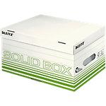Leitz Aufbewahrungsbox Solid Hellgrün Karton 26.5 x 37 x 19.5 cm 10 Stück