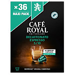 CAFÉ ROYAL Espresso Decaffeinato Nespresso* Kaffeekapseln 36 Stück