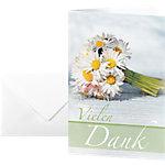Sigel Herzlichen Glückwunsch Karten Vielen Dank DS046 A6 220 g