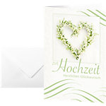 Sigel Glückwunschkarten Hochzeit DS042 A6 220 g