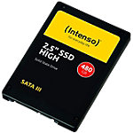 Intenso 480 GB Internes SSD High Performance Schwarz