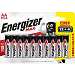 Energizer AA Alkali Batterien Max LR6 1,5 V 16 Stück