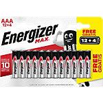 Energizer AAA Alkali Batterien Max LR03 1,5 V 16 Stück