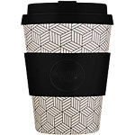 Ecoffee Cup Kaffeebecher Bonfrer 350 ml Schwarz, Braun