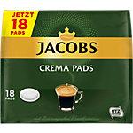 Jacobs Kaffeepads Crema 18 Stück à 118 g
