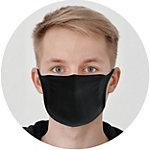 Schäfer Gesichtsmaske Waschbares Schwarz