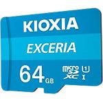 KIOXIA Micro SD Speicherkarte EXCERIA U1 Klasse 10 64 GB