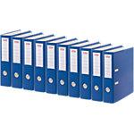 Office Depot Ordner 70 mm Karton 2 Ringe A4 Blau 10 Stück