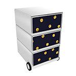 Paperflow Rollcontainer Balls EasyBox mit 3 Schubladen