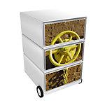 Paperflow Rollcontainer Marine EasyBox mit 3 Schubladen
