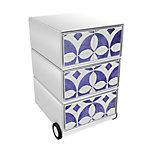 Paperflow Rollcontainer Faience EasyBox mit 3 Schubladen