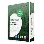 Nautilus Kopierpapier Classic 100 % recycelt DIN A4 Weiß 112 CIE Quickbox mit 2500 Blatt
