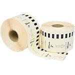 Zolemba Kompatibel Brother DK 22223 Kompatibel Papier Endlosetiketten Selbstklebend Weiss 50 mm x 30.48m 12 Stück