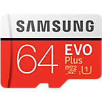 Samsung MicroSDXC Speicherkarte Evo Plus 64 GB
