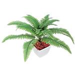 Künstliche Pflanze Farn Grün 350 mm