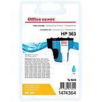 Kompatible Office Depot Tintenpatrone HP 363 C8771EE Cyan