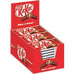 KITKAT Schokoriegel Knusperwaffel in Milchschokolade 24 Stück à 41.5 g