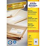 Avery Recyclingetiketten Weiß 6500 Stück