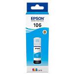 Epson 106 Original Tintenpatrone C13T00R240 Cyan 70 ml